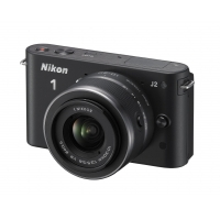 Nikon 1 J2 Compact System Camera with 10-30mm Lens Kit (Any Colour)