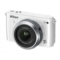 Nikon 1 S1 Compact System Camera (10.1MP with 11-27.5mm Lens Kit) (Any Colour)