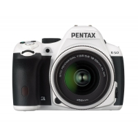 Pentax K-50 Digital DSLR Camera with DAL 18-55mm WR Lens Kit