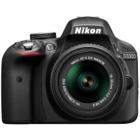 Nikon D3300 Digital SLR Camera with 18-55mm VR Lens Kit