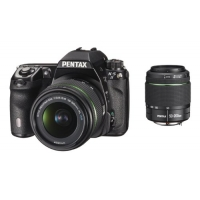 Pentax K-5 II Digital DSLR Camera with 18-55mm WR and 50-200mm WR Lens Kit