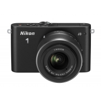 Nikon 1 J3 Compact System Camera with 10-30mm Lens Kit (Any Colour)
