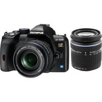 Olympus E-520 Digital SLR Camera (ED 14-42mm 1:3.5-5.6 & ED 40-150mm 1:4.0-5.6)