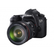 Canon EOS 6D Digital SLR Camera with EF 24-105mm f/4 L IS USM Lens Kit