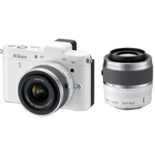 Nikon 1 V1 Compact System Camera (10-30mm and 30-110mm Twin Kit)