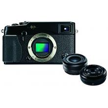 Fujifilm X-Pro1 Digital Camera with XF18mm and XF27mm Twin Lens Kit