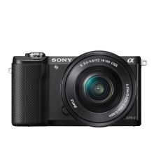 Sony ILCE5000L A5000 Compact System Camera with SEL-1650 Zoom Lens
