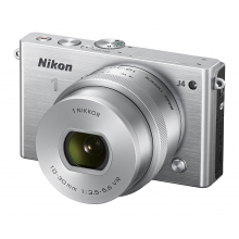 Nikon 1 J4 Compact System Camera with 10-30mm PD-ZOOM Lens Kit-Any Colour