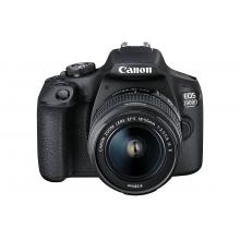 Canon EOS 2000D Digital SLR Camera (inc 18-55mm f/3.5-5.6 IS II Lens Kit)