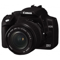 Canon EOS 350D Digital SLR Camera (incl. EF-S 18-55mm f/3.5-5.6 Lens Kit)