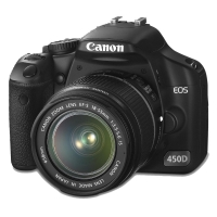 Canon EOS 450D Digital SLR Camera Kit (incl EF-S 18-55mm IS f/3.5-5.6 Lens)
