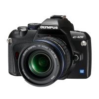 Olympus E-420 Digital SLR Camera (inc 14-42mm & 40-150mm)