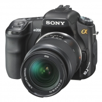 Sony Alpha A200K Digital SLR Camera (inc 18-70mm Lens)