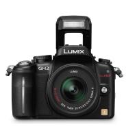 Panasonic Lumix DMC-GH2KEB-K Digital Camera with 14-42mm Lens Kit