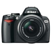 Nikon D60 Digital SLR Camera - Black (AF-S DX Nikkor 18-55mm f/3.5-5.6G VR Lens)