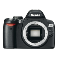 Nikon D60 Digital SLR Camera - Black (Body)