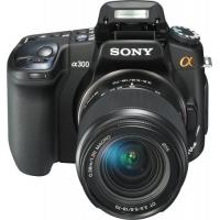 Sony Alpha A300K Digital SLR Camera (inc 18-70mm Lens)