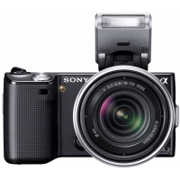 Sony NEX-5KB Alpha Compact System Camera (inc 18-55mm OSS lens) Any Colour