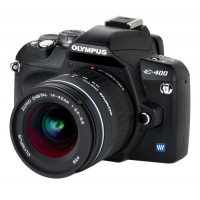 Olympus E-400 Digital SLR Camera (inc 14-42mm Lens Kit)