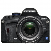 Olympus E-450 Digital SLR Camera (inc 14-42mm Lens Kit)