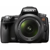 Sony Alpha SLT A33 Digital SLR Camera with 18-55mm Lens