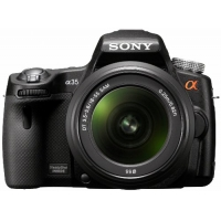 Sony Alpha SLT A35 Digital SLR Camera with 18-55mm Lens