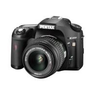 Pentax K200D Digital SLR Camera (inc 18-55 mm DA AL II Lens)