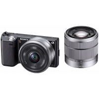 Sony NEX-5DB Alpha Compact System Camera - 16mm F2.8 & 18-55mm F3.5-5.6 OSS Twin Lens