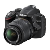 Nikon D3200 Digital SLR Camera with 18-55mm VR Lens Kit