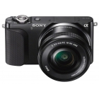 Sony NEX-3NL Interchangeable Lens Camera - Black (16-50mm Power Zoom Lens, 16.1MP)