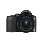 Samsung NX20 Digital Wi-Fi Compact System Camera - Black (20.3MP, 18-55mm Lens Kit)