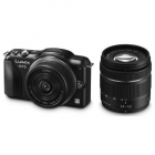 Panasonic Lumix DMC-GF5 Twin Lens Kit inc 14mm f/2.5 & 14-42mm f/3.5-5.6 Lenses