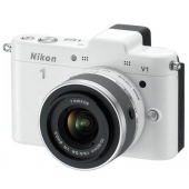 Nikon 1 V1 Compact System Camera with 10-30mm Lens Kit (Any Colour)