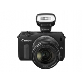 Canon EOS M Compact System Camera - (Includes Speedlite 90EX and EF-M 18-55mm f/3.5-5.6 IS STM) -Any Colour