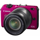 Canon EOS M2 Compact System Camera - (Includes EF-M 18-55mm f/3.5-5.6 IS STM Lens)-Any Colour