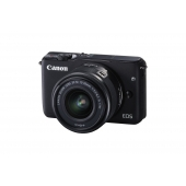 Canon EOS M10 Digital Camera ( Inc EF-M 15-45 mm f/3.5-6.3 IS STM Lens) Kit-Any Colour