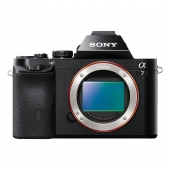 Sony α (alpha) A7 ILCE7B Full Frame Compact System Camera Body Only
