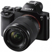 Sony α (alpha) A7 ILCE7B Full Frame Compact System Camera with 28-70mm Zoom Lens