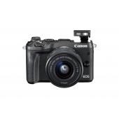 Canon EOS M6 Digital Camera ( Inc EF-M 15-45 mm f/3.5-6.3 IS STM Lens) Kit