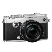Olympus Pen F Compact System Camera With M.ZUIKO DIGITAL ED 14-42mm 1:3.5-5.6 EZ Lens