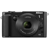 Nikon 1 V3 Compact System Camera (Including 10-30mm PD Zoom Lens) Any Colour