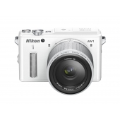 Nikon 1 AW1 Interchangeable Lens Camera with 11-27.5mm Lens Kit (Any Colour)