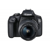 Canon EOS 2000D Digital SLR Camera (inc 18-55mm f/3.5-5.6 IS II Lens Kit)