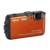 Nikon Coolpix AW100 Waterproof Compact Digital Camera-Any Colour