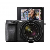 Sony A6400 ILCE6400 Compact System Camera Body with 18-135mm Power Zoom Lens- Any Colour