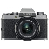 Fujifilm X-T100 Compact System Camera with with Fujinon XC 15-45mm Lens- ( Any Colour)