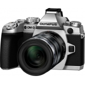 Olympus OM-D EM-1 Compact System Camera with (16.3MP, M.ZUIKO 12-50mm Lens)- Any Colour
