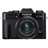 Fuji X-T20 Digital Camera with XC 15-45mm Lens Kit-Any Colour