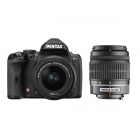 Pentax K-r Digital SLR Camera (Twin Lens Kit 18-55mm and 50-200mm)