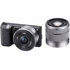 Sony NEX-5DB Alpha Compact System Camera - 16mm F2.8 & 18-55mm F3.5-5.6 OSS Twin Lens
